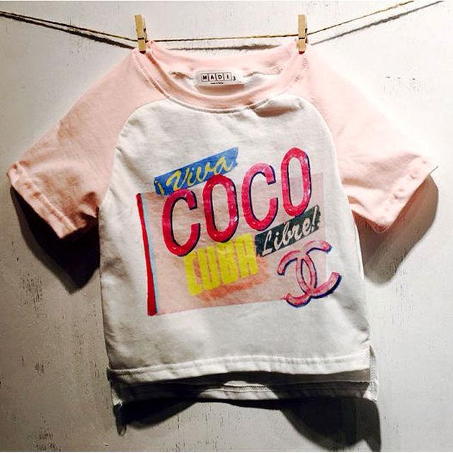 韓国子供服 COCO Tシャツ 半袖 100
