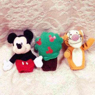 Disney指人形set