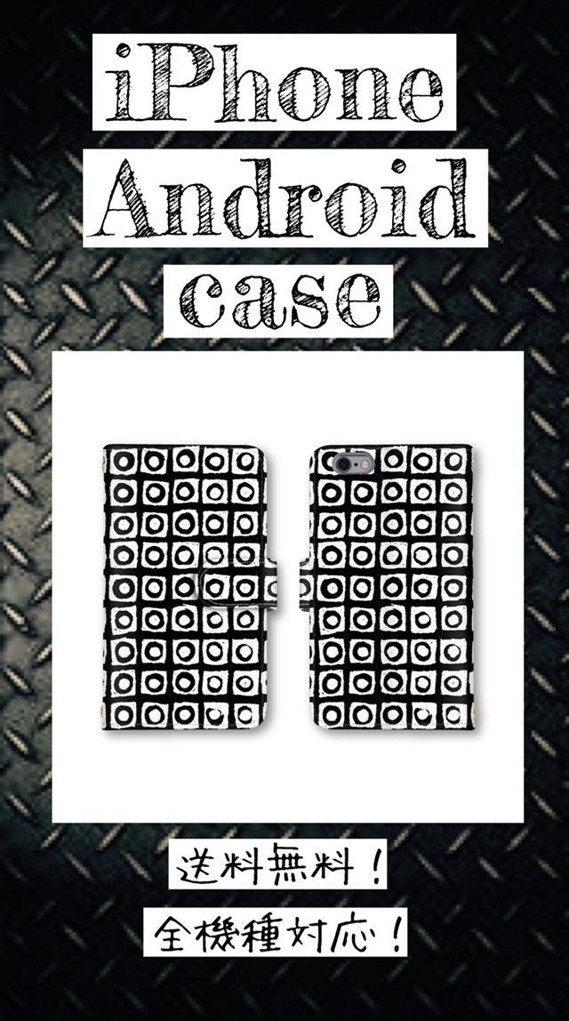 大人気のオシャレな手帳型スマホケース全機種対応送料無料