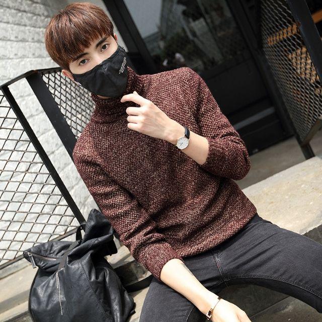 新品メンズセーター スリム カジュアル おしゃれD31-2