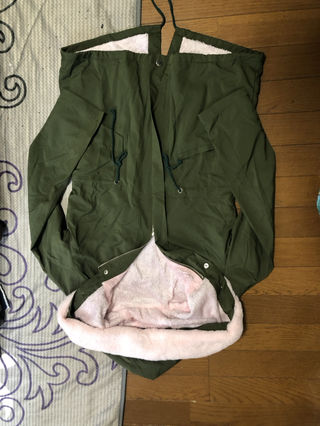 ピンクファージャケット