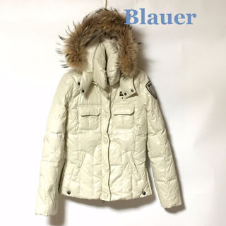 Blauer☆ブラウアー☆ファー付フードダウンジャケット