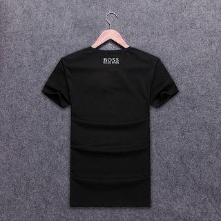 メンズ BOSS半袖 100%コットTンシャツ おしゃれ