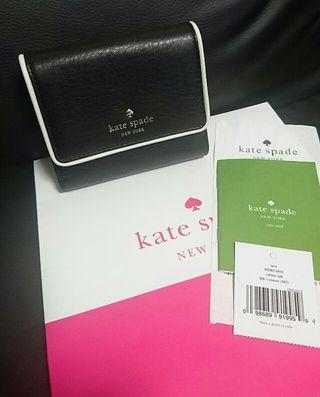 袋付直営店モデル ケイトスペードCobble Hill折財布