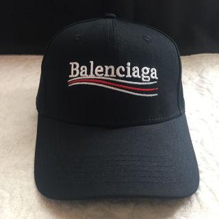 バレンシア力゛ーキャップ 帽子黒