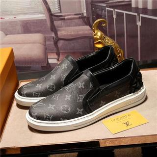 ルイビトンLV靴アシックス商事 紳士靴 ビジネスシューズ革靴