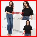 moussyスタイルアップショートレングスTシャツ