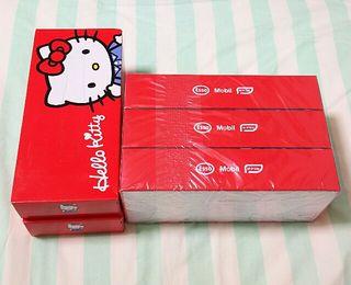 ハローキティ BOXティッシュ 5箱セット