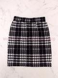ビジュー ペプラム スカート セットアップ チェック