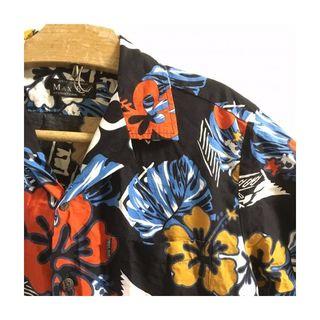 90's Vintage Aloha Shirts 1444