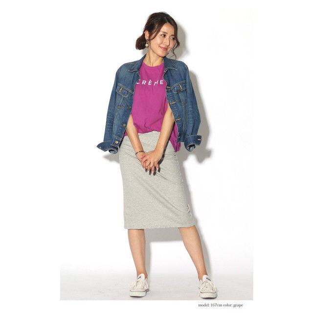 ゆったりTシャツ ロゴプリント Tシャツ - フリマアプリ&サイトShoppies[ショッピーズ]