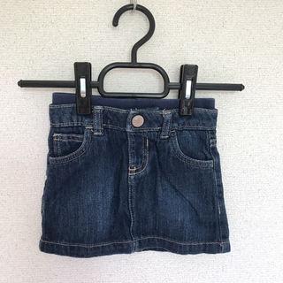 子供!デニムスカート!6-12ヶ月
