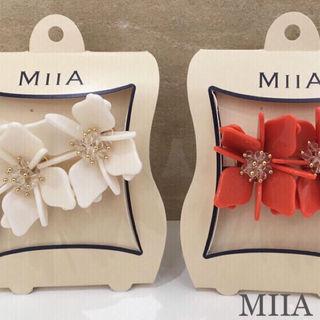 ViVi掲載MIIA  3Dフラワーピアス