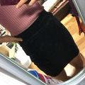 LIPコーデュロイタイトスカート
