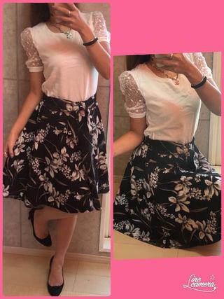 リランドチュール チュールニット お花スカート