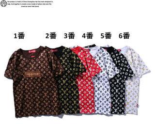 大人気ブランドコラボTシャツ男女兼用 SP8911