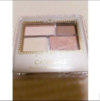 CANMAKEパーフェクトブラウンアイズ03おまけ付き