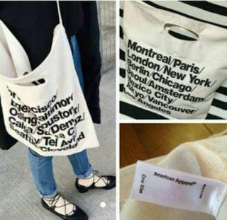 American Apparel トードバッグ