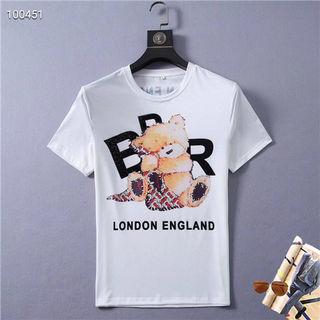 完売商品 バーバリー Tシャツ 半袖 M-3XL