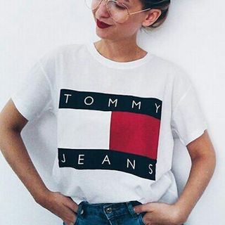 2018夏新作 トミーTシャツ 男女兼用 半袖