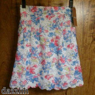 dazzlinレーススカート