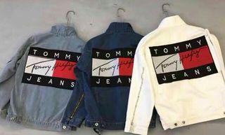 大人気 3色選択 トミー男女兼用ジャケット