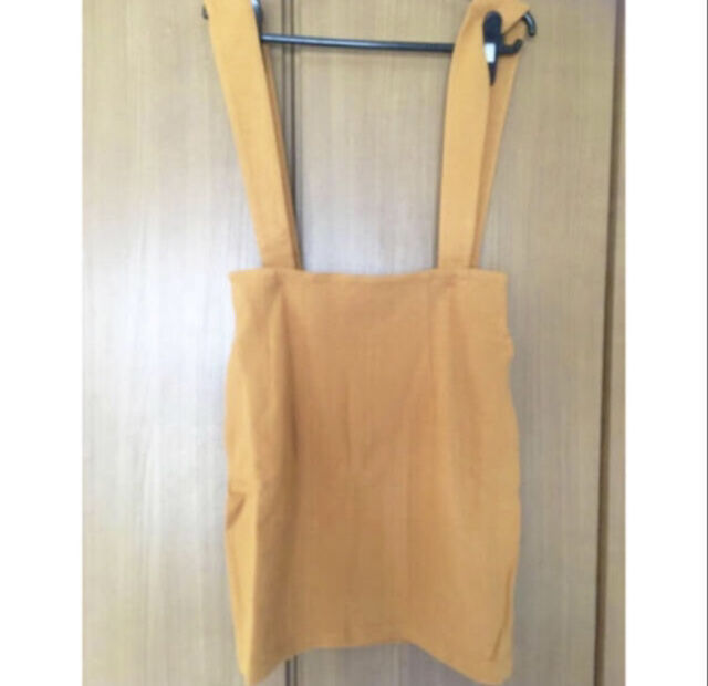 c35 SLYミニジャンバースカート(SLY(スライ) ) - フリマアプリ&サイトShoppies[ショッピーズ]