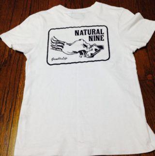 ナチュラルナイン白Tシャツ