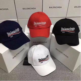 balenciaga 人気 刺繍 キャップ 男女兼用 帽子