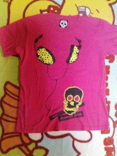 バナナフィッシュ・ピンクTシャツ