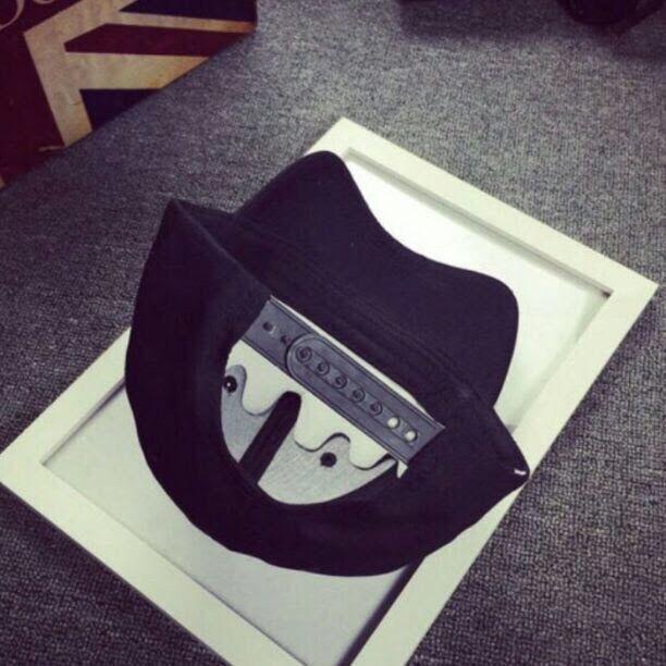 YOUTH ロゴ キャップ シンプル 帽子 黒