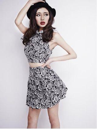 今季 GYDA†killer roseスカート