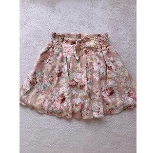 LIZLISA 花柄スカート
