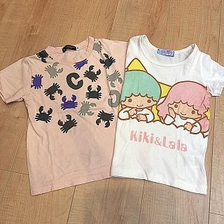 【100cm】べべ サンリオ Tシャツ セット BeBe