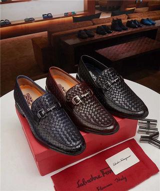 フェラガモ靴シューズ メンズローファー革靴