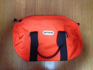 outdoor ボストンバッグ