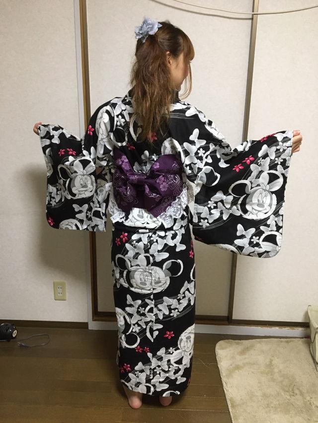 ミニーちゃんの浴衣