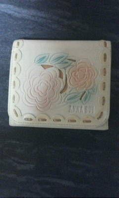 アナスイコンパクトタイプ2つ折り財布