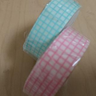 mt方眼ミントブルー&ピンクマスキングテープ!