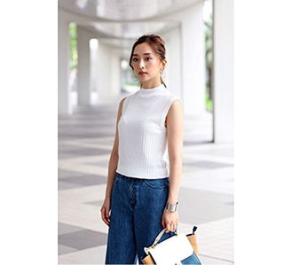 AZUL by moussy ノースリーブ
