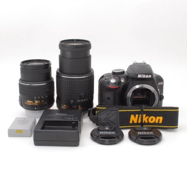 衝撃のショット数2531枚!!Nikon D3300 - フリマアプリ&サイトShoppies[ショッピーズ]