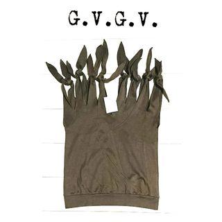 未使用 g.v.g.v リボン ノースリーブ トップス