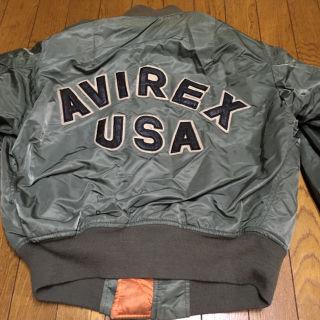 1990年代 USA アヴィレックス MA-1 グリーン M