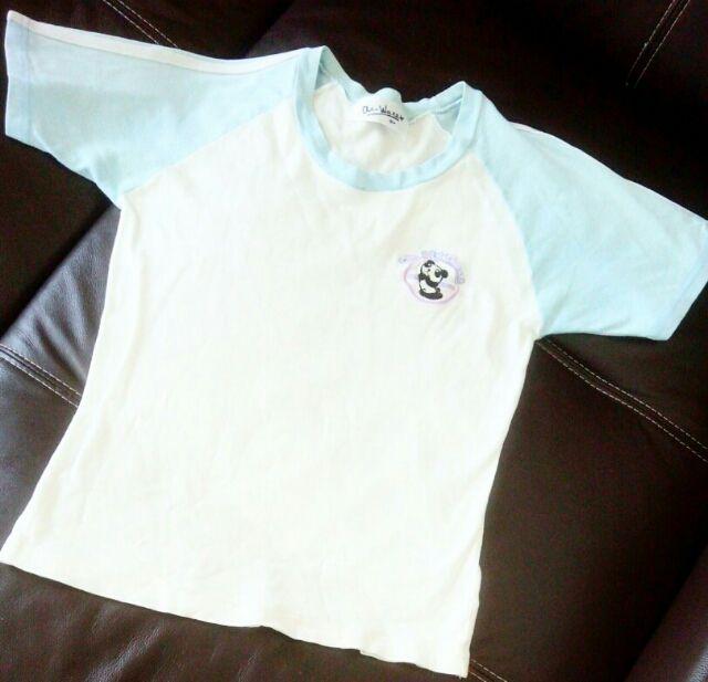 パンダ半袖TシャツM白×水色 - フリマアプリ&サイトShoppies[ショッピーズ]