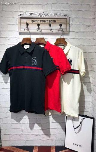 ポロシャツTシャツ半袖夏GUCCIグッチメンズ紳士男 B89