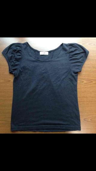 iiMKの黒Tシャツ(難あり)