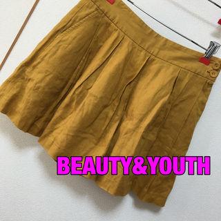 BEAUTY&YOUTHキュロットパンツ