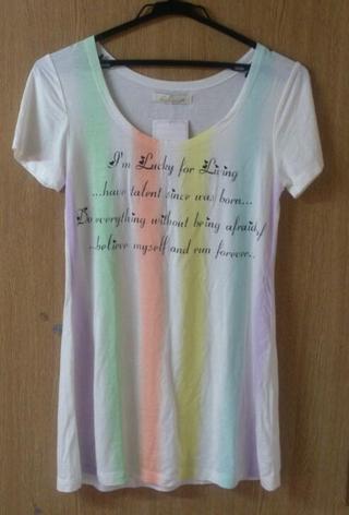 新品 ベベローズTシャツ