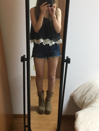 ガルラ  ショートブーツ
