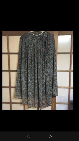 crisp 花柄ロングスカート